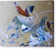 Bird Song Acrylic Print by Nancy Kane Chapman