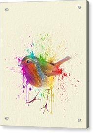 Bird Study Acrylic Print by Taylan Apukovska