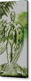 Birdman Acrylic Print by Jazzboy
