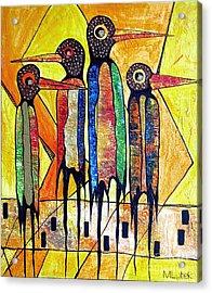 Birds 738 - Marucii Acrylic Print