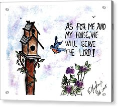 Bird's Home Acrylic Print