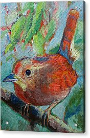 Bird's Morning Song Acrylic Print