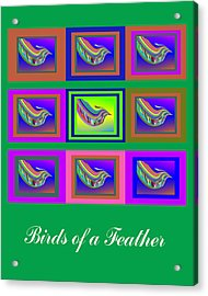 Birds Of A Feather 2 Acrylic Print