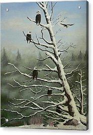 Birds Of A Feather... Acrylic Print