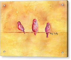 Birds Of A Feather - The Help Acrylic Print