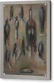 Birds Acrylic Print by Paez  Antonio