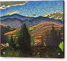 Birdseye Landscape #1 Acrylic Print by Dale Beckman