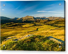 Birker Fell Lake District Acrylic Print by David Ross