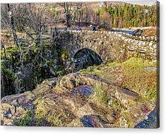 Birks Bridge Lake District Acrylic Print by Trevor Kersley
