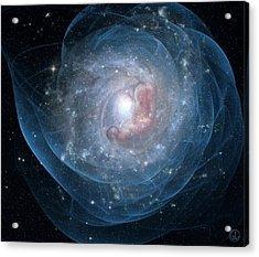 Birth Of A Galaxy Acrylic Print by Gun Legler