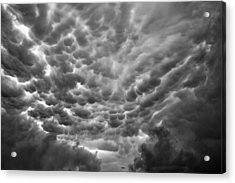 Birth Of A Mammatus Acrylic Print by Robert FERD Frank