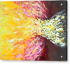 Birth Of A Star Acrylic Print by Margarita Gokun