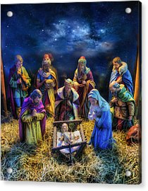 Birth Of Jesus Acrylic Print