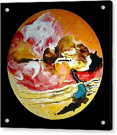 Acrylic Print featuring the painting Birth Of Spring No 4 by Carolyn Goodridge