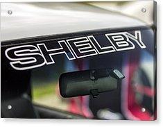 Birthday Car - Shelby Windshield Acrylic Print