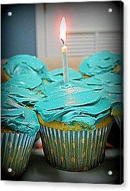 Birthday Cupcakes Acrylic Print