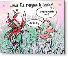 Birthday Dance Acrylic Print