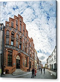 Birthplace Of Copernicus Acrylic Print by Babak Tafreshi