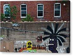 Bisbee Arizona Graffiti Acrylic Print by Dave Dilli