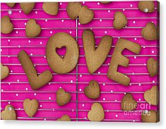 Biscuit Love Acrylic Print