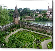 Bishop Garden In Albi France Acrylic Print