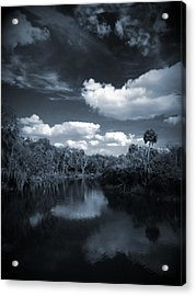 Bishop Harbor Acrylic Print by Phil Penne