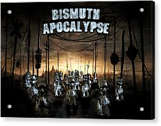 Acrylic Print featuring the photograph Bismuth Apocalypse by Tarey Potter