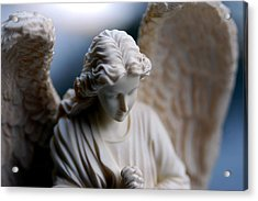 Bisque Angel Acrylic Print