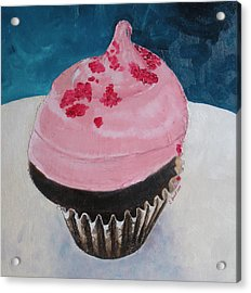 Bite Me Acrylic Print by Claudia Goodell