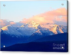 Bitterroot Mountains Montana Acrylic Print