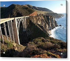 Bixby Bridge Afternoon Acrylic Print