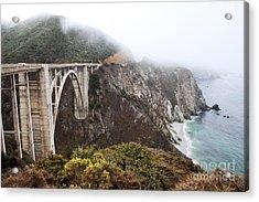 Bixby Bridge II Acrylic Print by Jenna Szerlag
