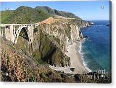 Bixby Bridge Acrylic Print by James B Toy
