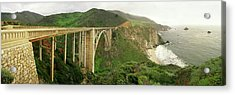 Bixby Bridge On The Big Sur Coast Acrylic Print