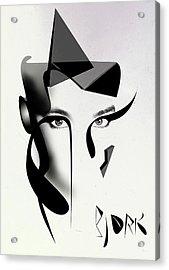 Bjork Acrylic Print