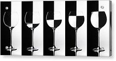 Black & White Acrylic Print by Doris Reindl