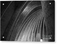 Black And White Arches Acrylic Print