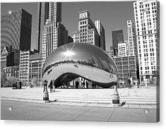 Chicago - The Bean Acrylic Print
