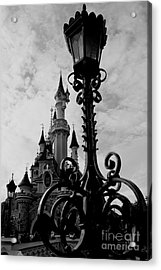Black And White Fairy Tale Acrylic Print