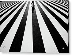 Black And White Acrylic Print by Kouji Tomihisa