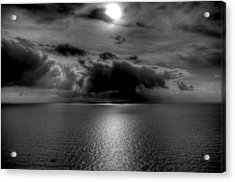 Black And White Of The Med Acrylic Print