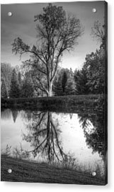 Black And White Reflections Acrylic Print