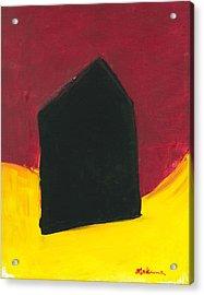 Black Arthouse Acrylic Print