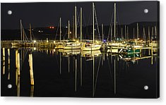 Black As Night Acrylic Print by Frozen in Time Fine Art Photography