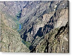 Black Canyon Of The Gunnison Acrylic Print by Jim West