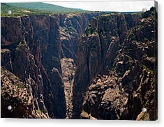 Acrylic Print featuring the photograph Black Canyon The Narrows  by Eric Rundle