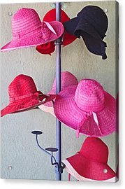 Black Chapeau Of The Family Acrylic Print