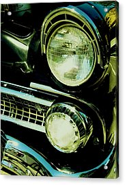 Black Classic Acrylic Print by Kathleen Bischoff