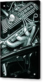 Black Cobra - Ford Cobra Engines Acrylic Print