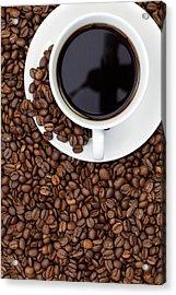 Black Coffee Acrylic Print by Andrew Dernie